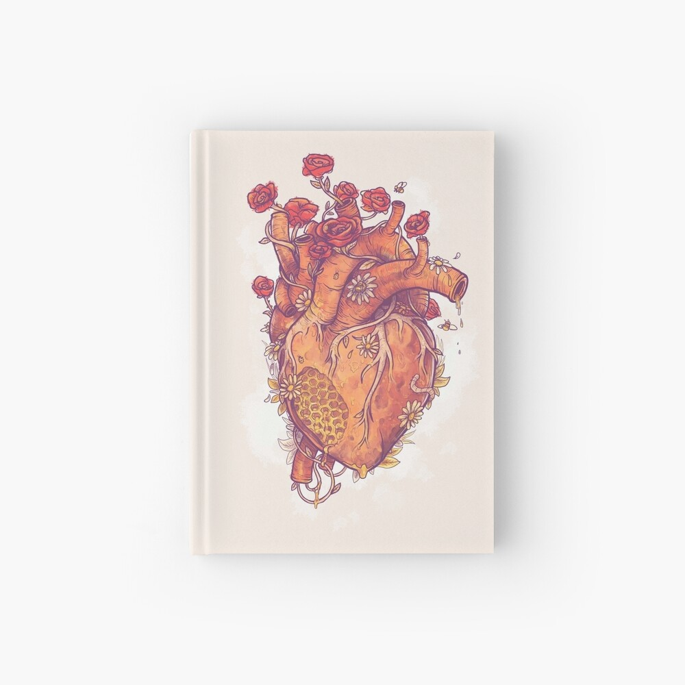 Dulce corazón Cuaderno de tapa dura
