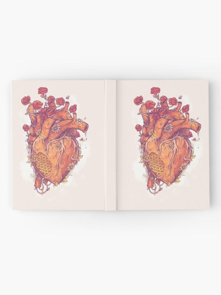 Vista alternativa de Cuaderno de tapa dura Dulce corazón