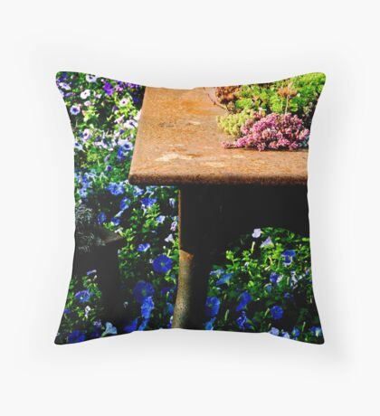 A Table Throw Pillow
