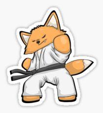 Little Fox Martial Arts Sticker