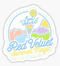 RED VELVET Summer Magic logo Sticker
