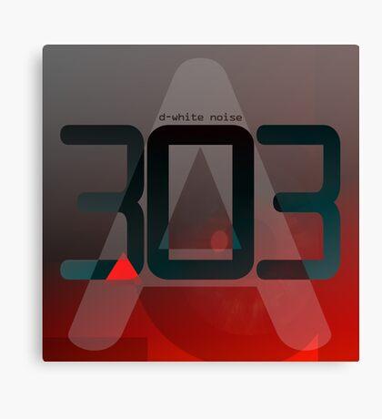 D-White Noise - A 303 Canvas Print