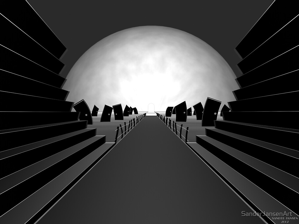 Path of choice by SanderJansenArt