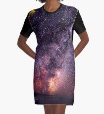 Interstellar Graphic T-Shirt Dress