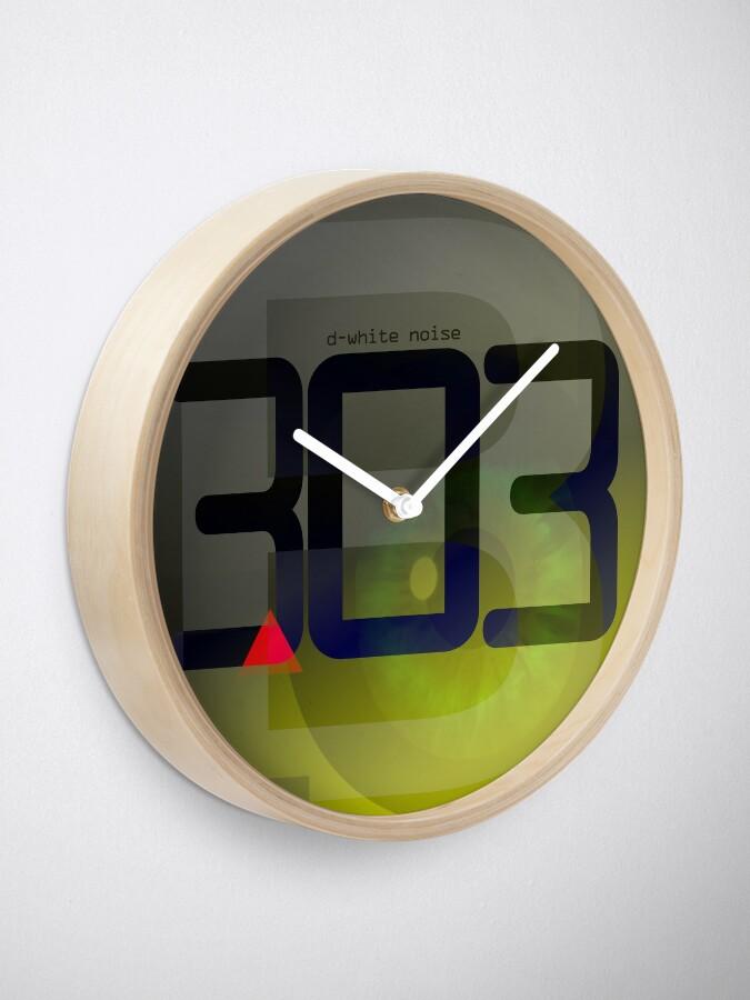 Alternate view of D-White Noise - B 303 Clock