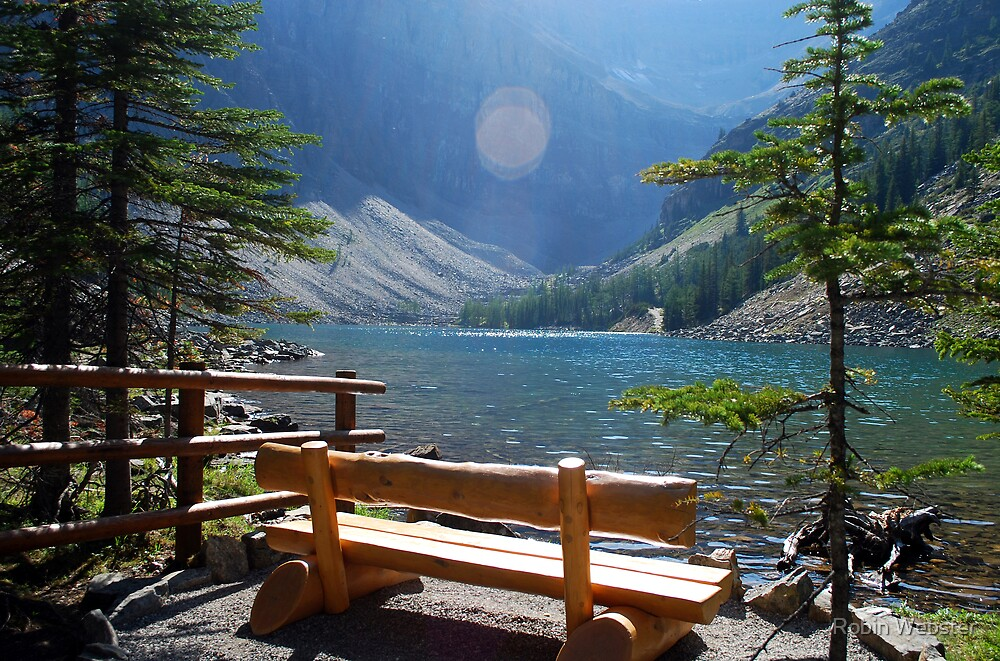 Lake in the Mountains by Robin Webster