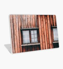 Norwegen Holzhaus Laptop Folie