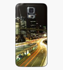 Brisbane Light Trails Case/Skin for Samsung Galaxy