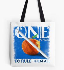 One Pencil to Rule Them All Tote Bag