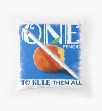 One Pencil to Rule Them All Floor Pillow