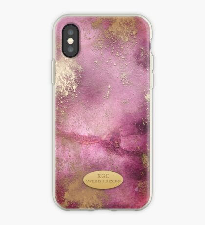 Mobile Pink Gold iPhone Case