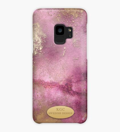 Mobile Pink Gold Case/Skin for Samsung Galaxy