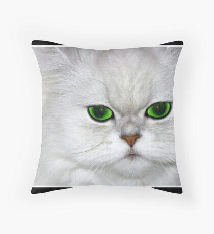Miss Priss... Throw Pillow