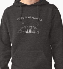 there is no planet b Pullover Hoodie