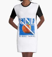 One Pencil to Rule Them All Graphic T-Shirt Dress