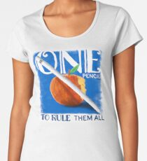 One Pencil to Rule Them All Premium Scoop T-Shirt