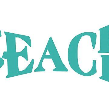 Teach peace 2 by Maridac