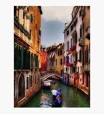 Ah, Venezia! Photographic Print