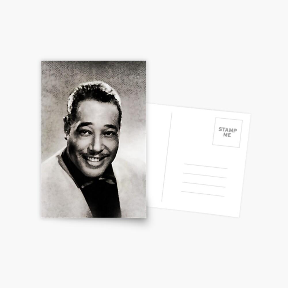Duke Ellington, Musiklegende Postkarte