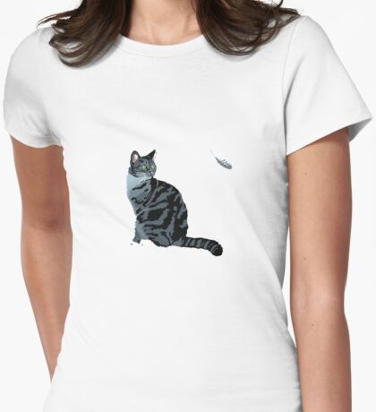 The Cat and The Feather T-Shirt