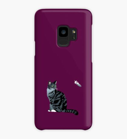 The Cat and The Feather Case/Skin for Samsung Galaxy