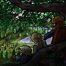 Norse Midsummer: People Watching by vikingsbooksetc