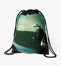 Lady of St. Marks Drawstring Bag