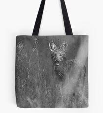 Coyote BW Tote Bag