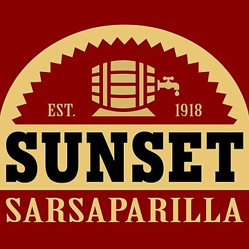 Sunset Sarsaparilla by boxsmash