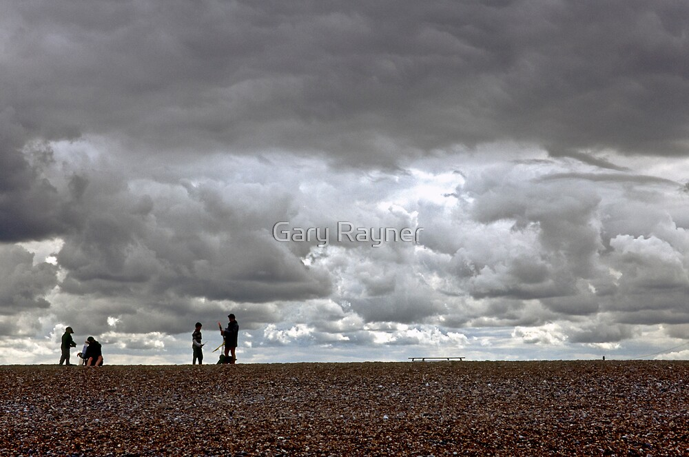Cley Beach, North Norfolk, UK by Gary Rayner