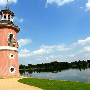 Moritzburg Castle Lighthouse by angel1