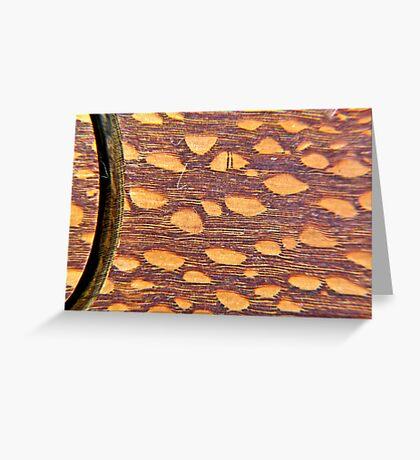Tiger Wood Greeting Card