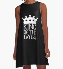 King of the Layers, #Layers  A-Line Dress