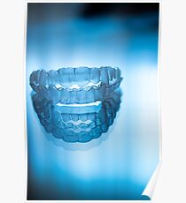 Invisible dental teeth aligners Poster