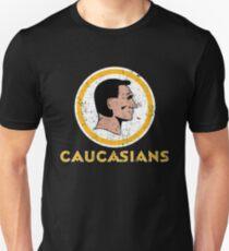 Caucasians shirt caucasian Unisex T-Shirt