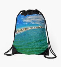 Garden City Tsunami Effect Drawstring Bag
