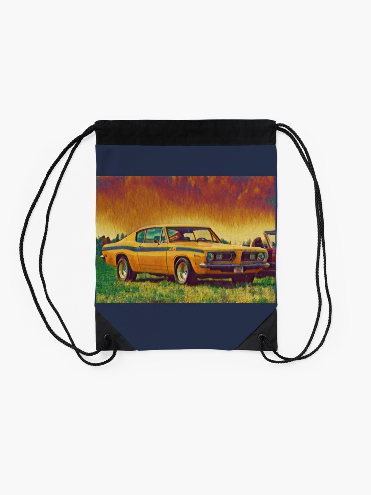 Alternate view of 1969 Plymouth Barracuda 440 Drawstring Bag