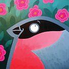 Bullfinch by Christine Jopling