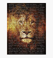 The Names of God Photographic Print