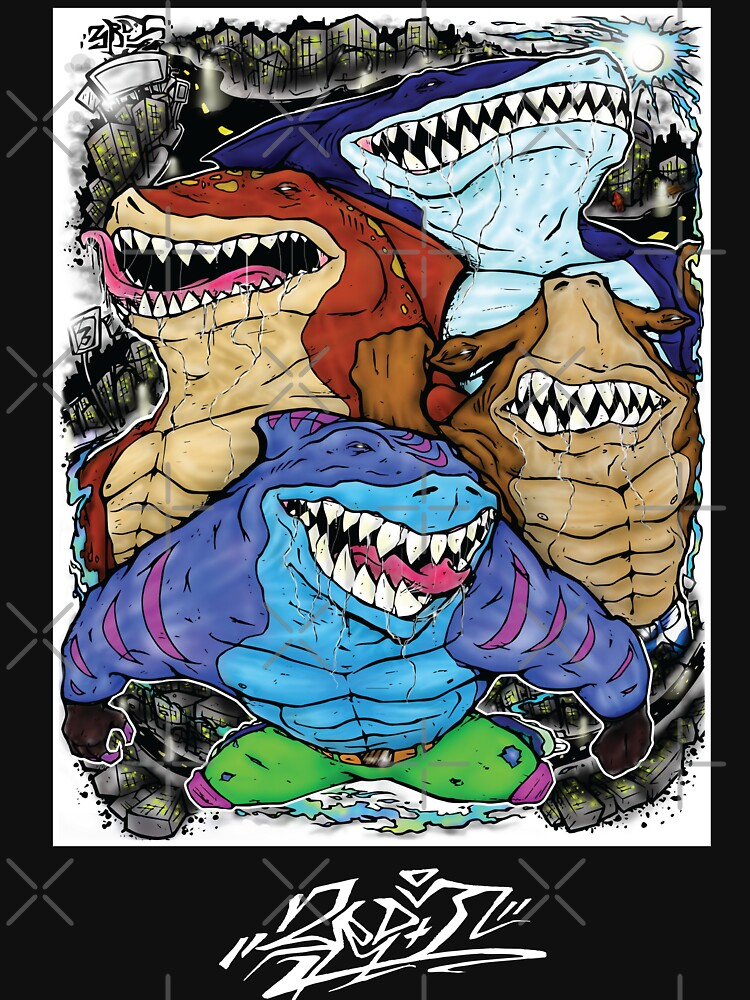 Street Sharks by therdai