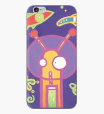 Space Alien Worm Juice iPhone Case