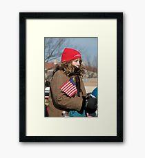 Cold Patriot Framed Print