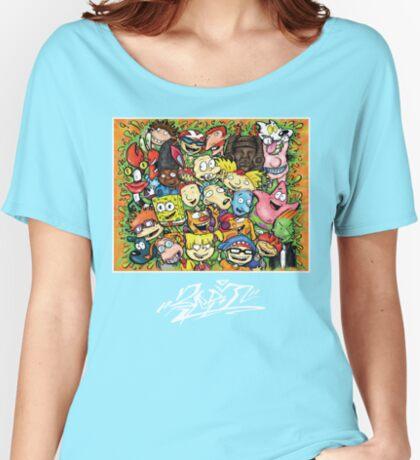 Nostalgic Nick Women's Relaxed Fit T-Shirt
