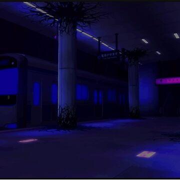 Persona 5 - Mementos Train by krispies69