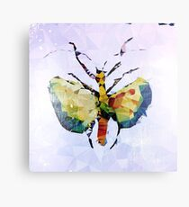Geometric Insect Metal Print