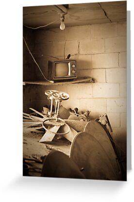 TV Room by Dennis Baker
