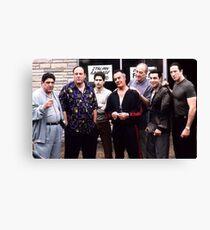 The Sopranos Canvas Print