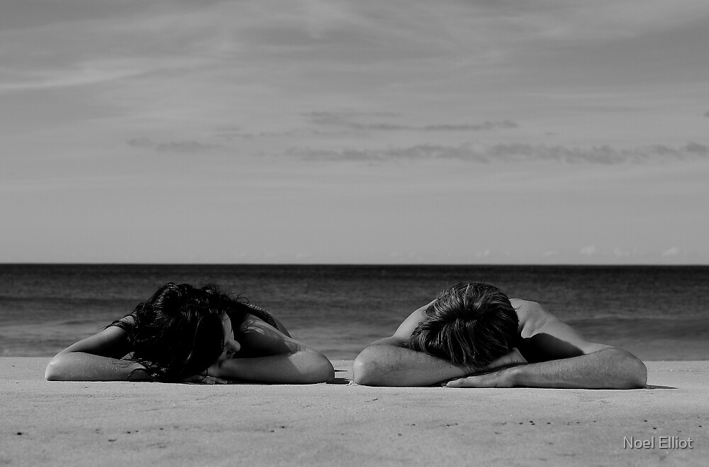 In Homage To Max Dupain - 'Sunbathers #2' by Noel Elliot