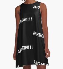 ARRRGH !! 1! A-Line Dress