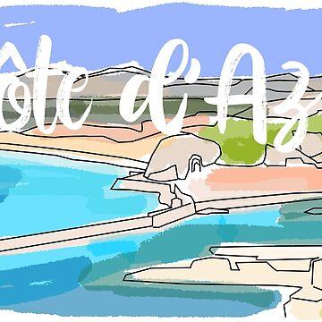 Cote d'Azur by nataliebohemian
